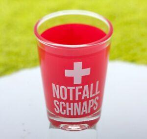 sheepworld Schnapsglas Shotglas Notfall 6cl