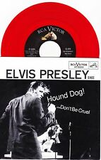 "Elvis Presley - Hound Dog / Don't Be Cruel - 7"" US Red Vinyl 45 - New"