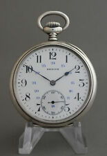 Antique Zenith Silver Grand Prix Paris 1900 Pocket Watch 15 Rubis Beautiful