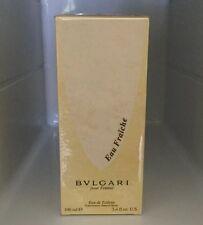 BVLGARI POUR FEMME EAU FRAICHE 100ml Edt Women's Perfum