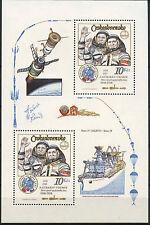 Cecoslovacchia 1983 SG #MS 2673 Spazio Volo MNH M / S #A 92808