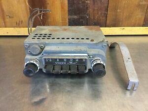 Vintage 1965 Volvo Bendix All Transistor Radio + Bracket  • #5BN 023132.    V151