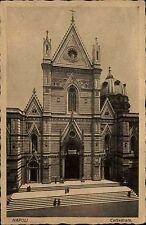 Napoli Neapel Italien s/w AK ~1920/30 Cattedrale Straßenpartie an der Kathedrale