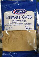 Jethimadh Liquorice Licorice Mulethi Root Powder . Free P&P UK