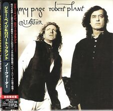 CD JIMMY PAGE ROBERT PLANT NO QUARTER JAPAN MINI-LP OBI Led Zeppelin PHCR-1592