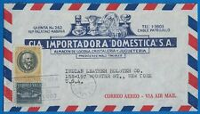 1953 CUBA Ad Cover - CIA Importadora , Havana to Indian Leather Holster, NY B1