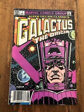 Super-Villain Classics Galactus The Origin 1 MARVEL 1983 Newsstand Edition B