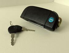 VOLKSWAGEN VW TRANSPORTER T4 1990-2003 BLACK LEFT OUTER DOOR HANDLE WITH LOCK