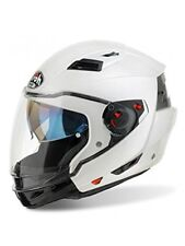 Casco da Moto Scooter con mentoniera staccabile Airoh Executive Bianco lucido Non applicabile L