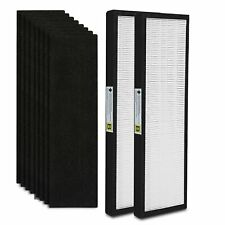 2-Pack Flt4825 True Hepa Air Purifier Filter B Replacement Compatible for