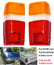 REAR TAIL LIGHT LAMP LENS PAIR FOR TOYOTA HILUX UTE 2WD 4WD PICKUP 83 84 85 86