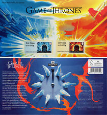 GAME of THRONES 2018 FIRE and ICE POST & GO SET Mint + Presentation Card