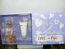 Nina Ricci. Love IN Paris .eau Parfum 30 Spray + Eau.parfum 0.2oz + Body Lotion