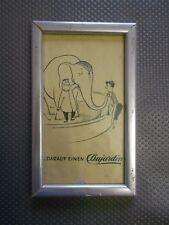 Dujardin vecchia pubblicità con loghi in cornici (351)