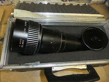 Slide projector lens ELMO for kodak 180-300mm 1:4.5 long throw LENS +travel case