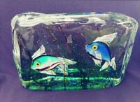Large Cenedese Murano Glass Aquarium Sculpture - Amazing!!