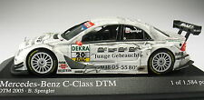 Minichamps-mercedes-benz c-class-DTM 2005-b. Spengler-nuevo en caja original - 1:43