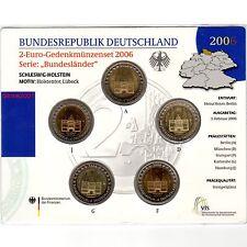 2 EURO COMM GERMANIA 2006 ADFGJ Folder Uff. Holstentor