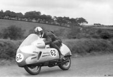DKW 350 RM two stroke works racer Cecil Sandford 1956 Ulster Grand Prix photo