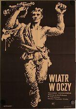 The Wind Veter Polish movie poster Poland Eduard Bredun, Loginova, Wiatr w oczy