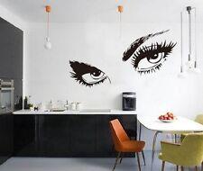Audrey Hepburn's Eyes Silhouette Wall Sticker Decals Home Decor Wall Art Memorab