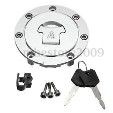Fuel Gas Tank Cap Cover Lock Set W/ 2Key For Honda CBR600RR 03-14 CBR600 1991-98