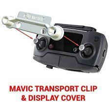 DJI MAVIC PRO - Screen Cover & Transport Clip Controller WHITE USA seller