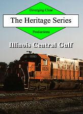 Railroad DVD: Illinois Central Gulf in the 1980s