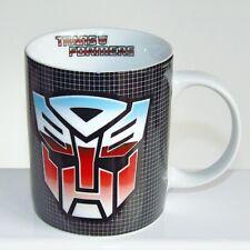 RARE Transformers Mug ~ Autobot & Decepticon Symbol Official Hasbro