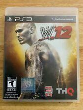 WWE'12 (PS3) CIB