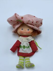 Vintage Strawberry Shortcake Doll With Clothes Dress