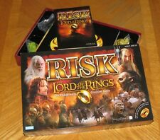 RISK Lord of the Rings Middle Earth Conquest Game 2002 Hasbro - New in Open Box