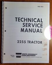 White Oliver Cockshutt 2255 Tractor Engine Clutch Shift PTO Service Manual 12/72