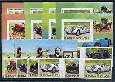 Burkina Faso Autos aus 1019/26 Block 101/11 A + B postfrisch ...............1/89