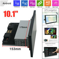10.1'' 1DIN Android 9.1 Touch Screen WiFi 1G+16G Car Stereo Radio GPS MP5 Player