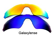 Galaxy Replacement Lenses For Oakley Radar EV Path Blue&Red Polarized 2 Pairs