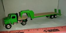 1/64 ERTL farm toy custom kark 5th wheel scratch built dcp flatbed trailer truck