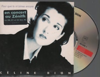 Céline Dion Pour Que Tu M'aimes Encore Cd Single Card Sleeve
