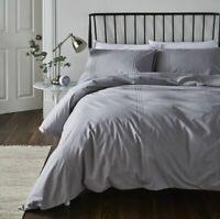 Catherine Lansfield Minimalist Easy Care Duvet Set Grey FREE P&P Best Price