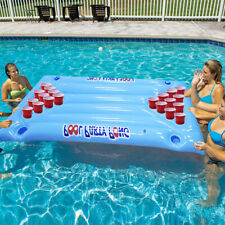 Inflatable Swimming Pool Float Inflatable Swimming Pool Beer Pong Table
