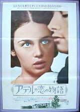 L'HISTOIRE D'ADELE H Story of Japanese B2 movie poster FRANCOIS TRUFFAUT ADJANI