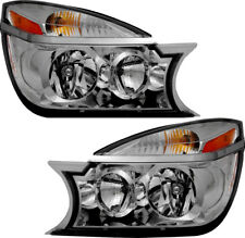 Headlights Headlight Assembly (w/Bulb) NEW Pair Set for 06-07 Buick Rendezvous