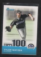 TYLER MATZEK  2010 BOWMAN  TOPPS 100 CARD#TP8