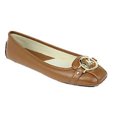 Michael Kors Shoes MK 40R1FUFR1L Fulton Moccasin Tumbled Leather New COD Agsbeag