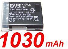 """★★★ """"1030mA"""" BATTERIE Lithium ion ★ Pour Nikon D5200 D5100 D3200 D3100 COOLPIX"""