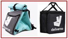 Deliveroo Kit-Exterior Mochila, Bolsa Térmica, casco, luces, etc.