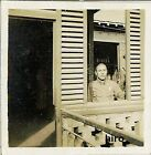 Japan Army old photo Imperial 1942 Pacific War Military Soldier terrace window