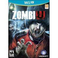 Zombiu Zombie U Zombi Nintendo Wii U With Case Very Good 9Z
