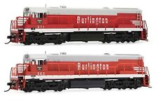 Arnold Burlington CB&Q GE U28C Diesel DCC Ready #563 / #571 N Scale Locomotives