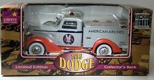Liberty Classics 1936 Dodge Truck Tanker Bank American Airlines Limited Edition